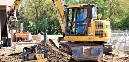 pederskotte.dk jordarbejde anlægsarbejde udgravninger entreprenør betonarbejde støbearbejde