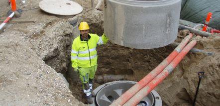 pederskotte.dk entreprenør kloakmester kloakarbejde støbearbejde anlægsarbejde strømpeforing